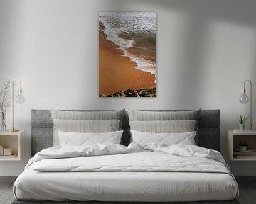 La plage de Quarteira, Algarve Portugal sur Manon Visser