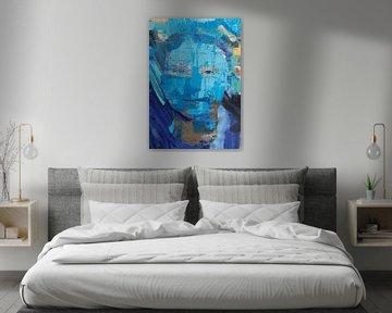Greta Thunberg portrait von Stephen Chambers