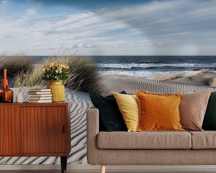 Sfeerimpressie behang: De  duinen van Bredene van Rik Verslype