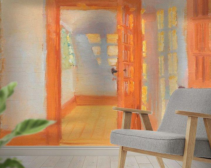 Beispiel fototapete: Inneres. Brøndums Anhang, Anna Ancher