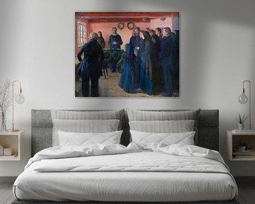 Eine Beerdigung, Anna Ancher