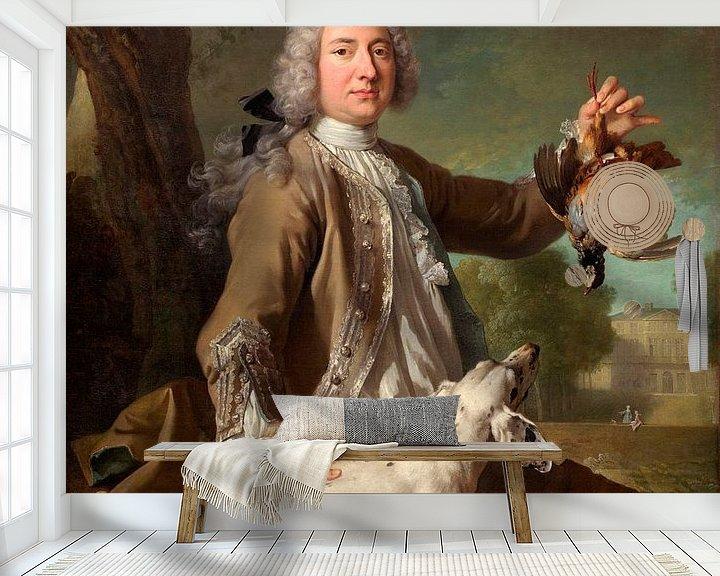 Beispiel fototapete: Henri Camille, Chevalier de Beringhen, Jean-Baptiste Oudry