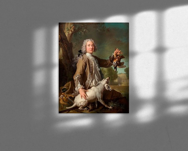 Beispiel: Henri Camille, Chevalier de Beringhen, Jean-Baptiste Oudry