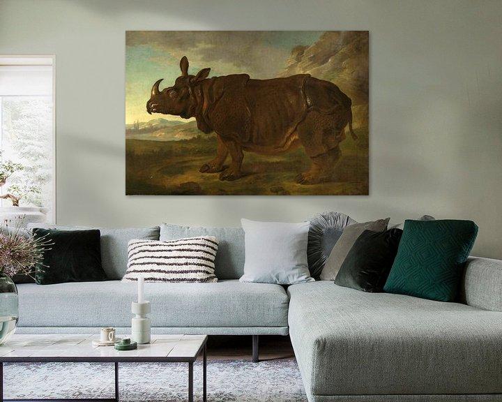 Beispiel: Nashorn, Jean-Baptiste Oudry