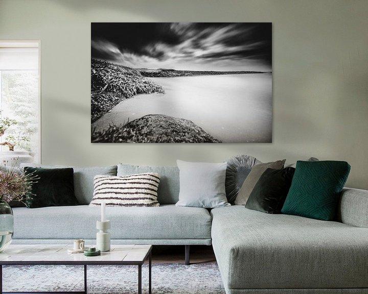 Sfeerimpressie: Contrastrijk Nederlands water landschap van Fotografiecor .nl