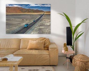 Pan-American highway, Peru van Henk Meijer Photography