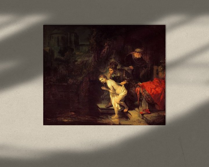 Beispiel: Suzanna und die Ältesten, Rembrandt van Rijn