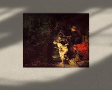 Suzanna und die Ältesten, Rembrandt van Rijn