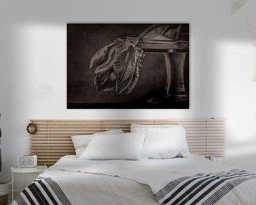 Schwarze Tulpe. von natascha verbij