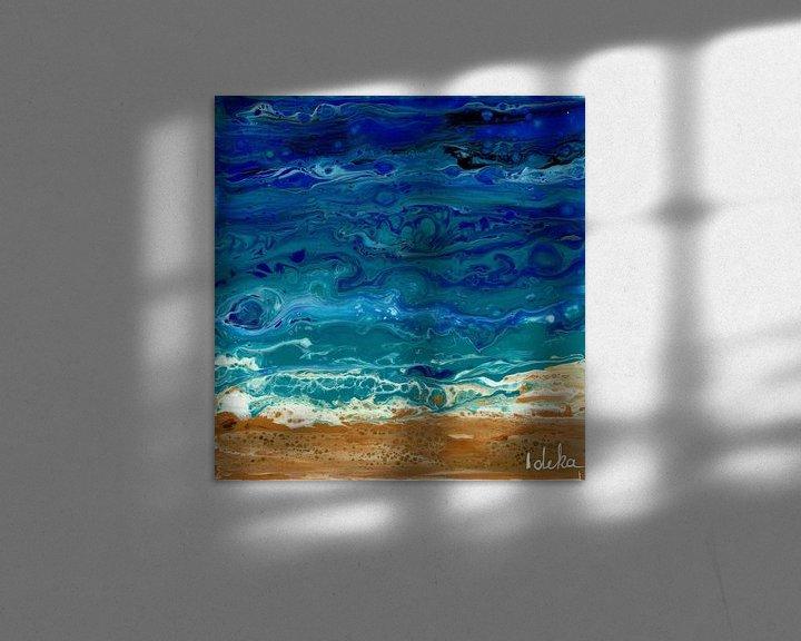 Beispiel: Ozean gießen von Ideka - Inge De Knop