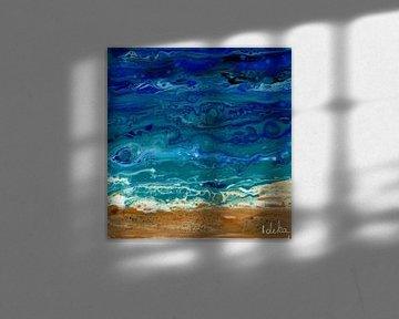 Ozean gießen von Ideka - Inge De Knop