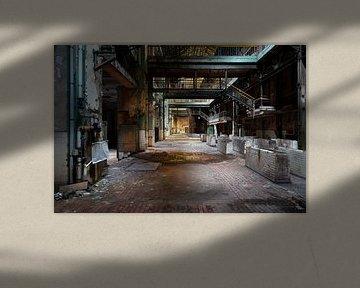 Verlaten Industrie in Verval.