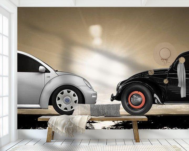 Beispiel fototapete: New Beetle - VW Käfer von aRi F. Huber