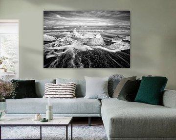 Wit op zwart van Ralf Lehmann
