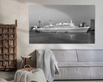 SS Rotterdam Schwarz-Weiß von Midi010 Fotografie