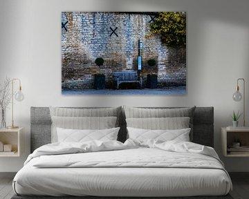 Un beau mur en Angleterre sur René Groenendijk