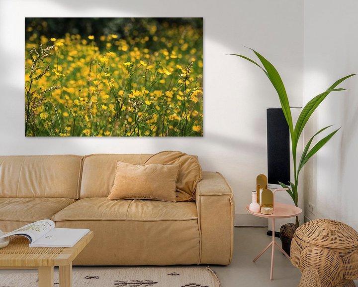 Sfeerimpressie: Gele droom. van Jim van Iterson