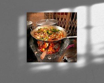 Pittig Straatvoedsel in Phnom Penh