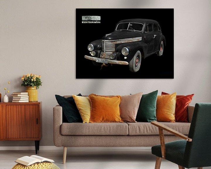 Impression: Opel Kapitän (modèle d'avant-guerre) sur aRi F. Huber