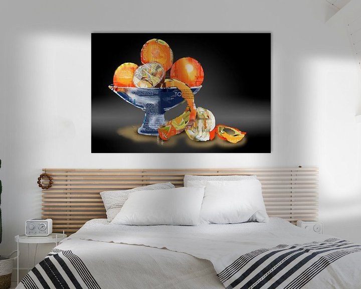 Sfeerimpressie: Sinaasappelen, zonder verpakking van Ruud van Koningsbrugge