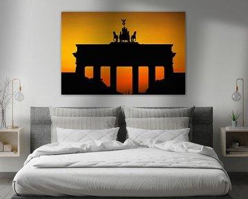 Brandenburger Tor Silhouette