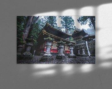 Das Heiligtum Tōshō-gū in der Stadt Nikko (Japan). von Claudio Duarte