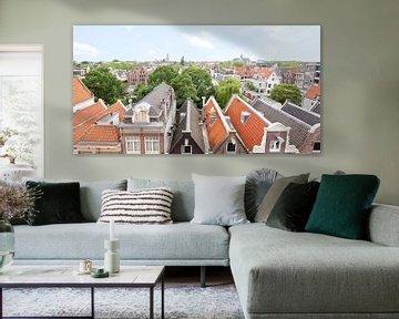panoramic skyline Amsterdam van Umana Erikson