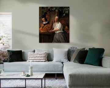 Der Bäcker Arent Oostwaard, Jan Steen