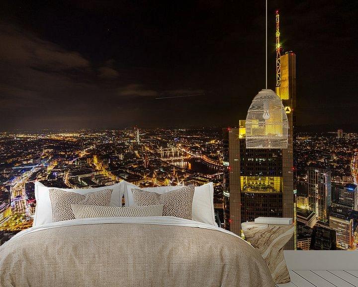 Beispiel fototapete: Frankfurter Skyline. von Bart Sallé