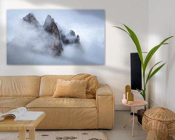 Drijvende bergen. van Sven Broeckx