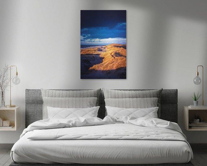 Impression: Ombres et lumières dans les dunes danoises sur Florian Kunde