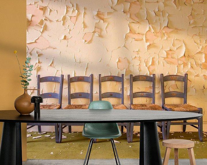 Beispiel fototapete: Stühle von jose van dijk