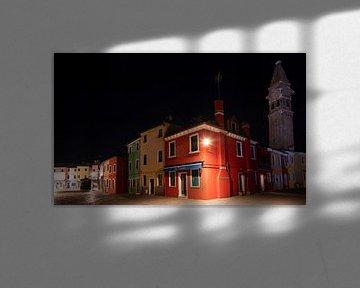 Nachts auf Burano (Venedig)