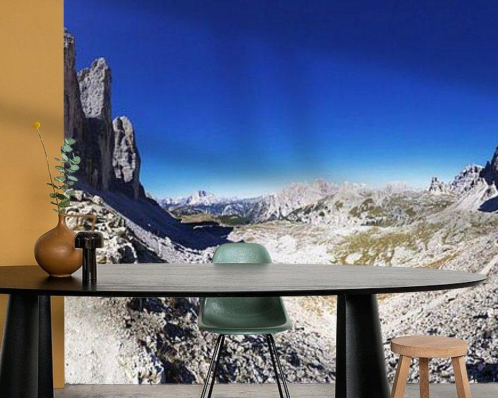Impression: Panorama dans les Dolomites avec les trois sommets sur Frank Herrmann