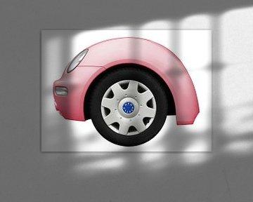 VW Nieuw Kever spatbord van aRi F. Huber