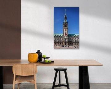 Hamburger Rathaus, Hamburg, Deutschland, Europa von Torsten Krüger
