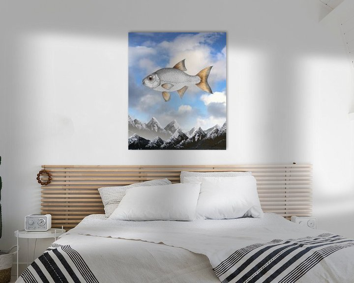 Beispiel: Fliegende Rotauge von Bianca Wisseloo