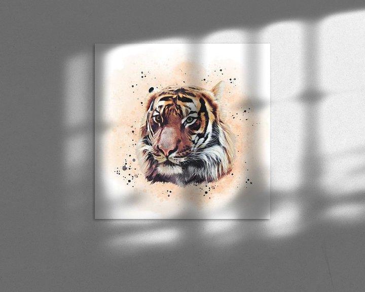 Beispiel: The Tiger von Angela Dölling