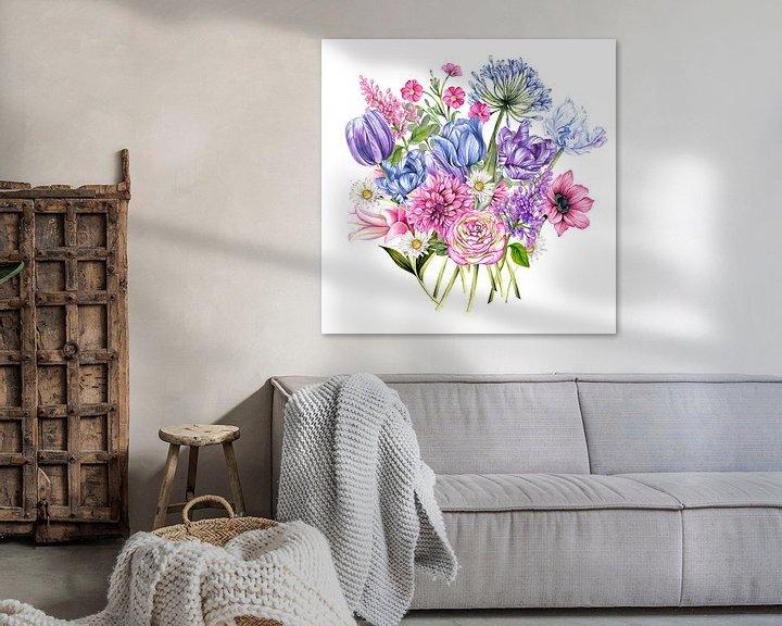 Beispiel: Blumenstrauß von Geertje Burgers