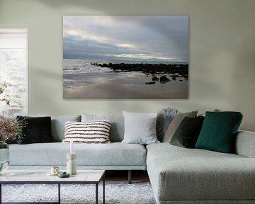 Vue magnifique sur la mer sur Wendy Hilberath