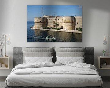 Das Castello Aragonese in Tarent, Italien von Berthold Werner