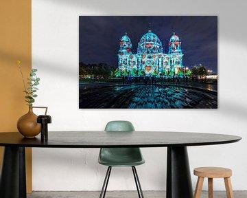La cathédrale de Berlin sous un jour particulier
