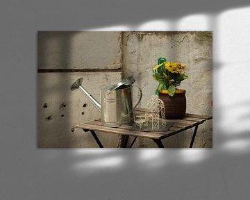 Nur ein Tisch mit Dekoration von Wendy Hilberath