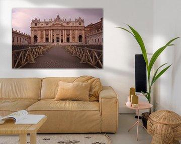 Petersdom in Rom: Der Petersdom von Wendy Hilberath