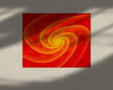 Fraktale Spirale von Alexandra Kleist