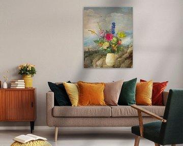 Klassische Blumenszene von Joske Kempink