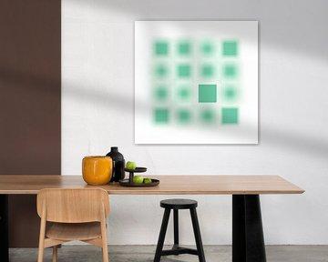 Fokussiert Serie Quadrate mint von Jörg Hausmann