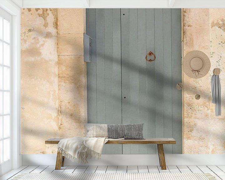 Sfeerimpressie behang: Apulië pastel van Inge Hogenbijl