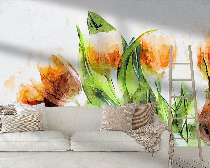 Beispiel fototapete: Tulips 2020 von Andreas Wemmje