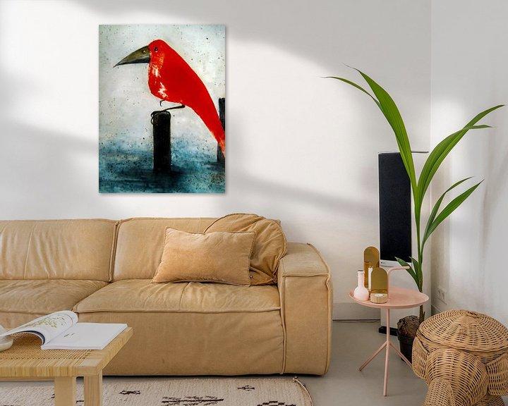 Beispiel: Der Rote Vogel von Christine Nöhmeier